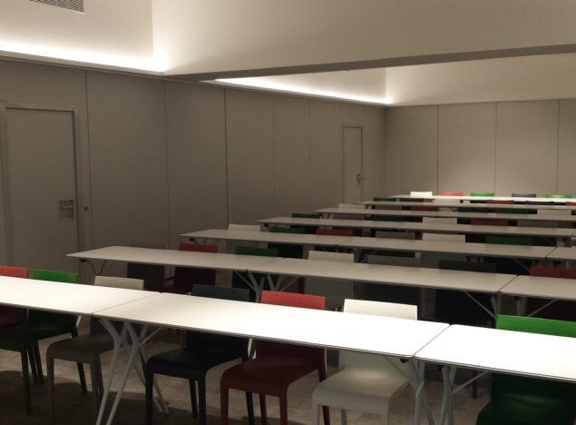 Tabiques móviles en aulas docentes - Vimetra.com