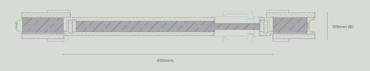 Puerta acústica - Paneles especiales para tabiques móviles - Vimetra.com