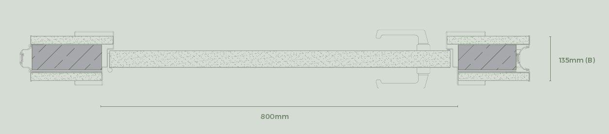 Puerta estándar - Paneles especiales para tabiques móviles - Vimetra.com