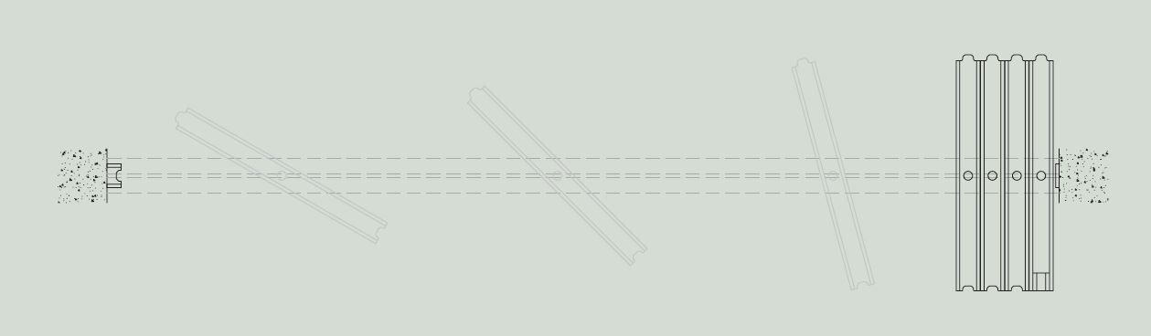 Sistema de desplazamiento de tabique móvil monodireccional - Vimetra.com