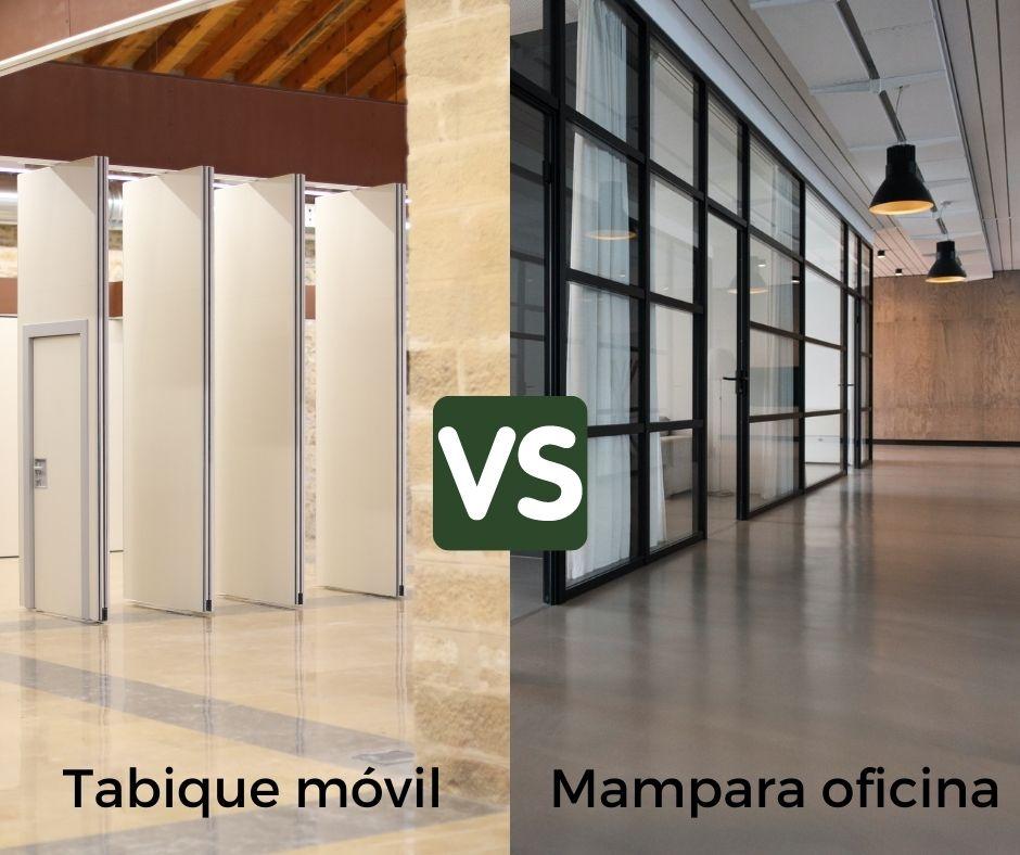 Tabiques móviles vs Mamparas de oficina - Vimetra.com