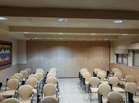 Tabique móvil en IES de Málaga - Vimetra.com