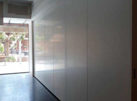Tabique móvil instalado en una Residencia de Mayores - Vimetra.com